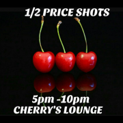 Half Priced Shots!